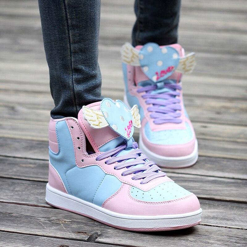 Nouvelles baskets femmes scarpe donna chaussures femmes de luxe de marque femmes chaussures mode 2018