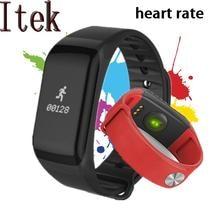 Itek F1 smart Сердечного ритма крови Давление фитнес-трекер спорта браслет для IOS Android часы PK Ми bandfitbits