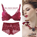 Bra sexy autumn and winter thin lace bra underwear small push up adjustable bra fashion women's underwear