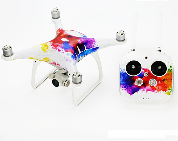 3m scotchcal film skin decals sticker for dji phantom 4 quadcopter controller