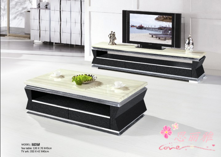 Modern Marble Tv Stand Table Home Cabinet