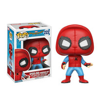 FUNKO POP Marvel SpiderMan Home Far From Spider Man Vinyl Action Figure Model Original Box Anime Figure Toys Gift 2F43 28cm marvel steel chivalrous limit edition spider bat hand do pa change superman die paternity can action figure schoolboy gift