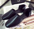 New 2016 Fashion Star Spring Summer square Toe Girl Sweet Hot shoe Sandal Women casual Coffice Loafers shoes