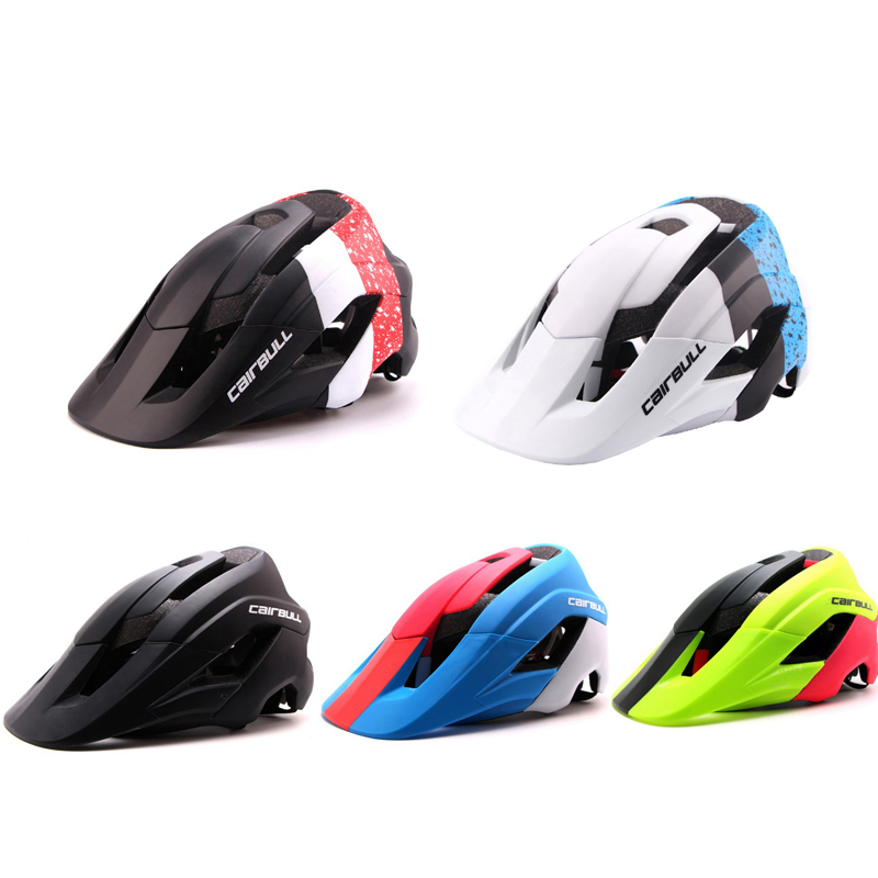 CAIRBULL Super Design Mountain Bike Helmet Deeper Coverage Bicycle Helmet Superior Venting Cycling Helmet For Men