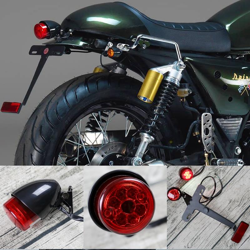 Rücklicht OLD SCHOOL Motorrad Cafe Racer Custom Bober Scrambler Universal