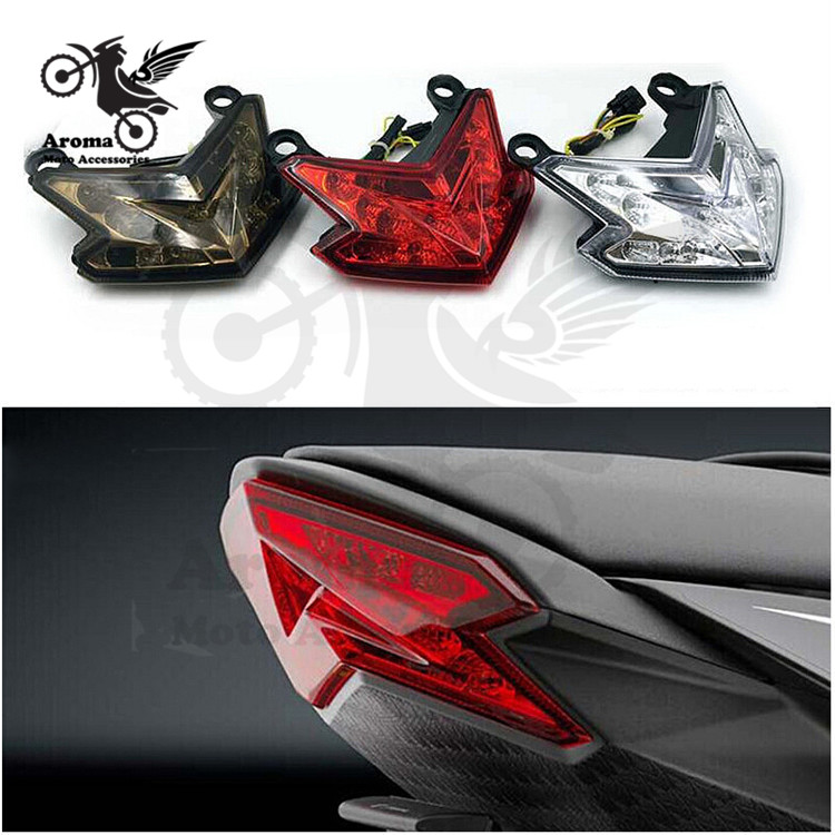 high quality 3 Colors Available motorcycle tail light for kawasaki ...