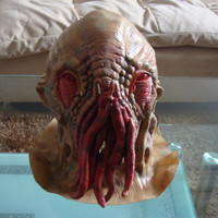 Halloween Horror Mystery doctor Masks Jude Star Octopus Animal Heads Monster Aliens Party Masks scary face mask Latex