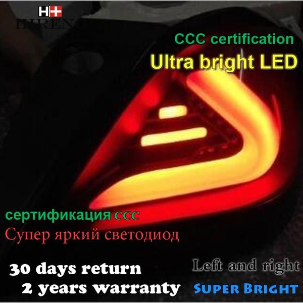 Hireno задний фонарь для Опель Астра 2005 2006-2011 светодиодный задний фонарь фонарь задний стояночный тормоз сигнала поворота света