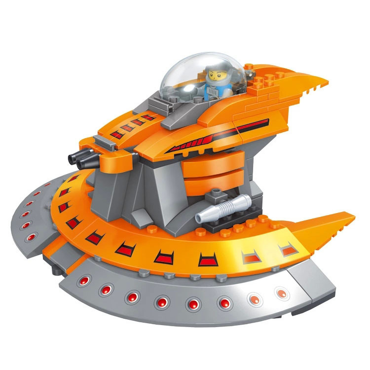 FREE SHIPPING New Space series Star Wars space fighter robot Building Blocks scale models Block Brick