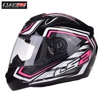 LS2 FF352 mały rozmiar kaski motocyklowe kobiety dzieci kaski wyścigowe Moto Kask S M ROOKIE różowy Ranger 55 56 57 58 CM w Kaski od Samochody i motocykle na