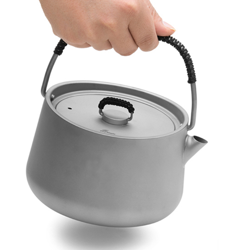 Fire Maple Panna Series Titanium Pot Camping Hiking Traving Hunting Picnic Coffee Tea Pot 1L Teapot Kettle FMC-PTK