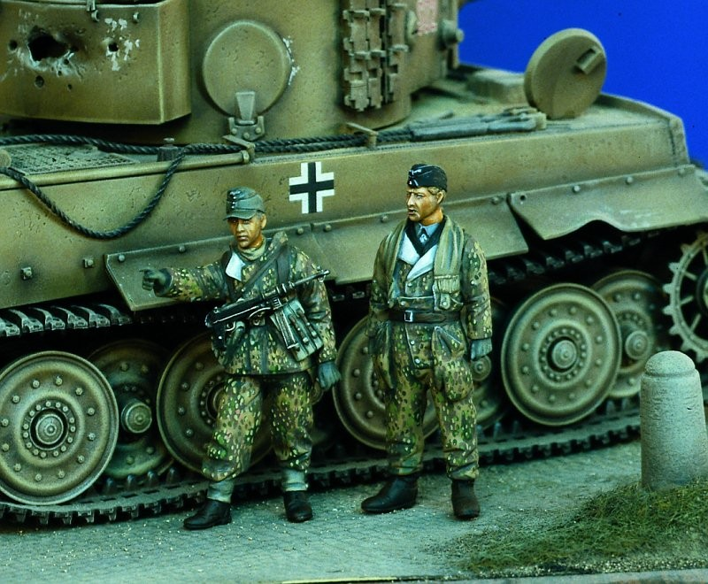 1:35  German Infantry Ardennes WWII