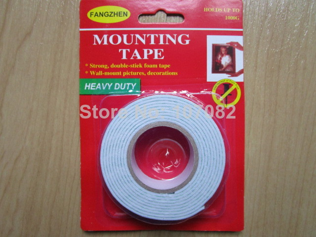 HEAVY DUTY 4 YARD STRONG DOUBLE SIDE STICK FOAM MOUNTING TAPE WALL-MOUNT PICTURE