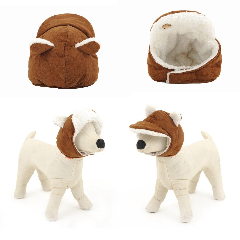 Otoño y el invierno de perro para mascotas de invierno sombreros para  perros de dibujos animados cálido sombrero tocado accesorios de vestido de  perro ... 8c60b45db9a