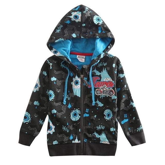CARBÓN DE LEÑA verde chaquetas para niños Abrigos Niños prendas de abrigo de invierno año nuevo chicos sudaderas con capucha deportes trajes para bebés niños ropa de algodón
