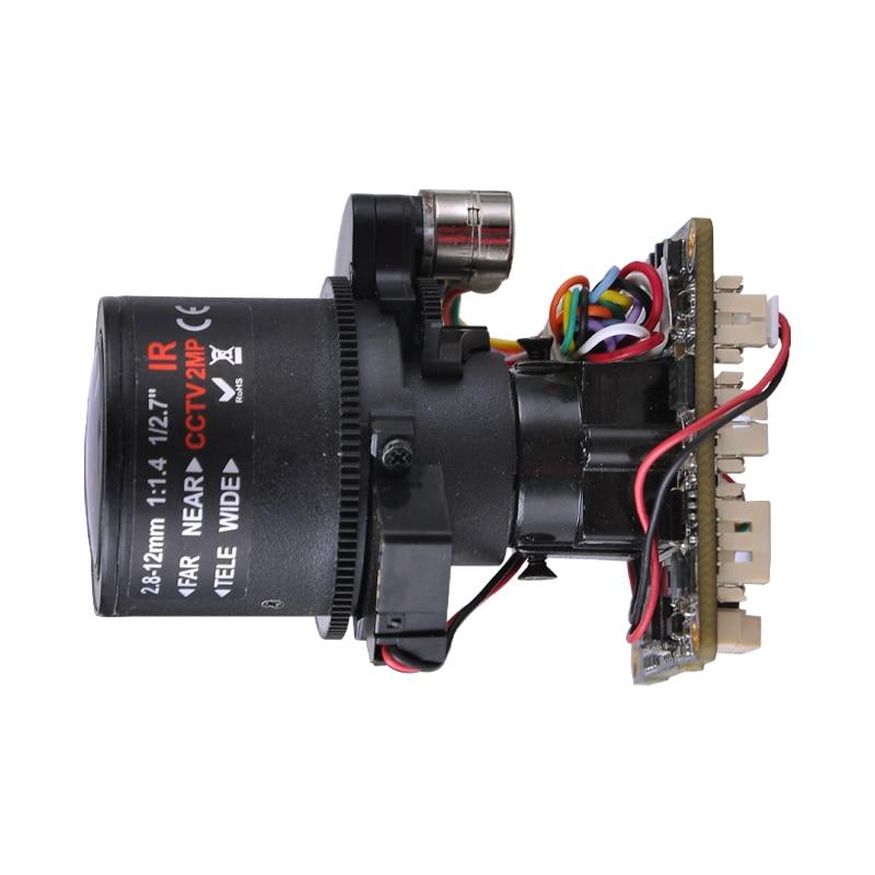 XM HD 2.0MP 1080P X4 Zoom PTZ 2.8-12mm Electric focusing autofocus ipc module SONY IMX 322 Senso Free software CMS Free shipping цена