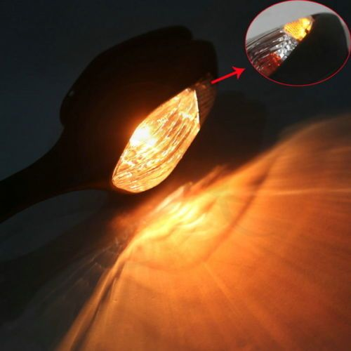 Motorcycle Rear View Mirrors Turn Signal For HONDA CBR1000RR CBR 1000 RR 2008-2013 2012 2010 Cool Amber
