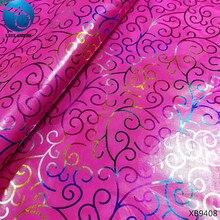 LIULANZHI bazin fabric pink african riche getzner nigeria guinea brocade lady dress with glitter 5yards/lot XB94