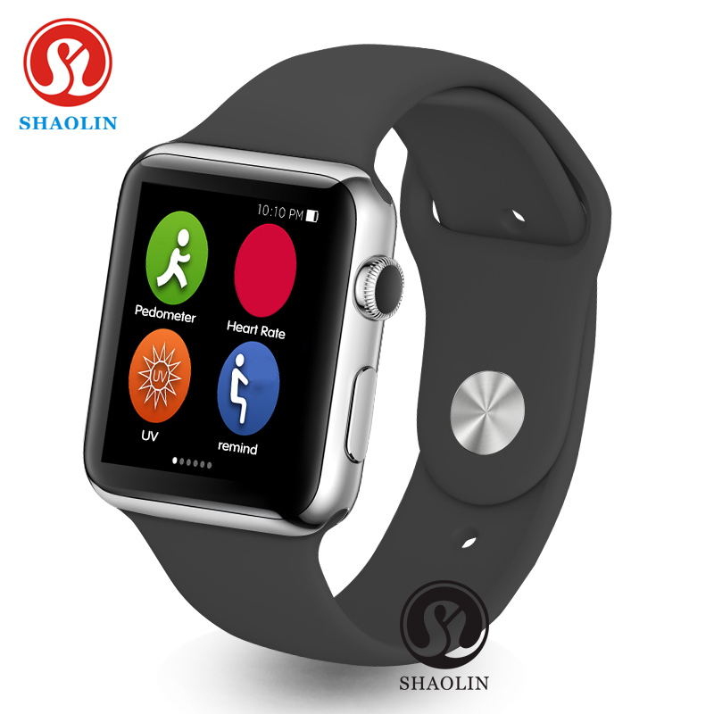 Prix pour SHAOLIN Smart Watch Bluetooth SmartWatch pour Apple IPhone IOS Android Smartphones Smart Électronique Ressemble à Apple Watch
