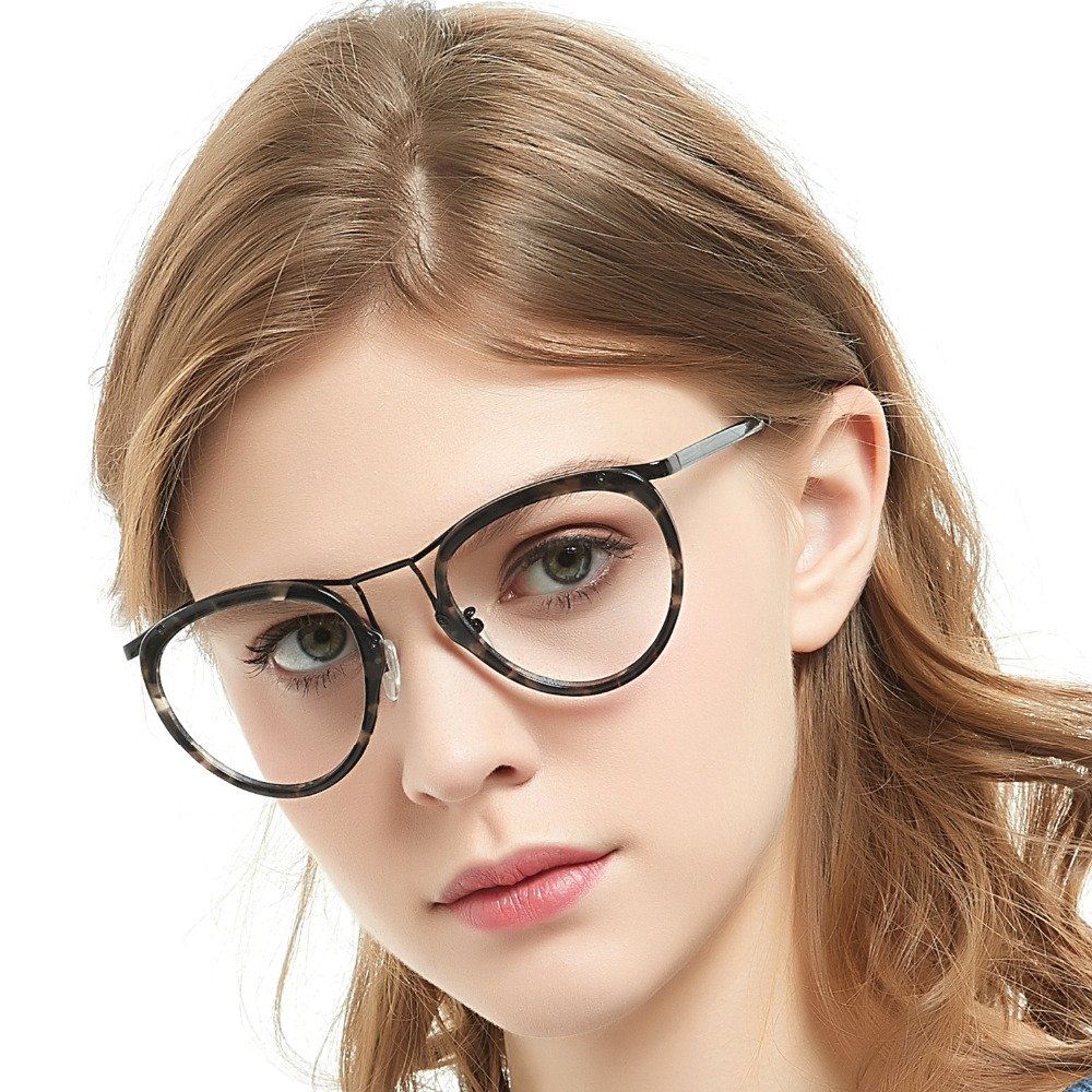 c3514d1fe7 2019 2017 Hot Anti Radiation Goggles Plain Glass Spectacles Fashion ...