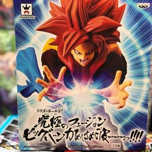 Image 2 - Tronzo Original Action Figure GT Goku Vegeta Gogeta SSJ4 Kamehameha PVC Figure Model Toys In Stock