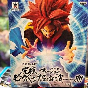 Image 2 - Tronzo figuras de acción originales de Dragon Ball GT, Goku, Vegeta, Gogeta, SSJ4, Kamehameha, figura de PVC en miniatura, juguetes en Stock
