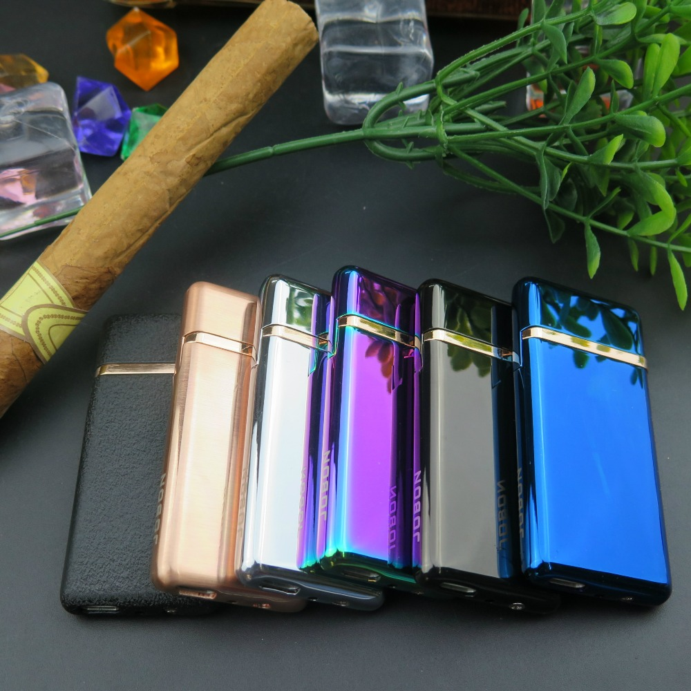 Tungsten Turbo Usb Lighter Windproof Electric Recharable For Cigarette Material Zinc Alloy|Cigarette Accessories| - AliExpress