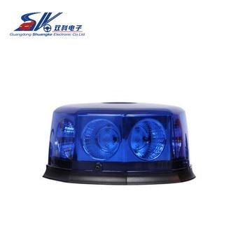 Brightest beacon cob 40w 12v 24v led rotating blue beacon light magnetic.jpg 350x350