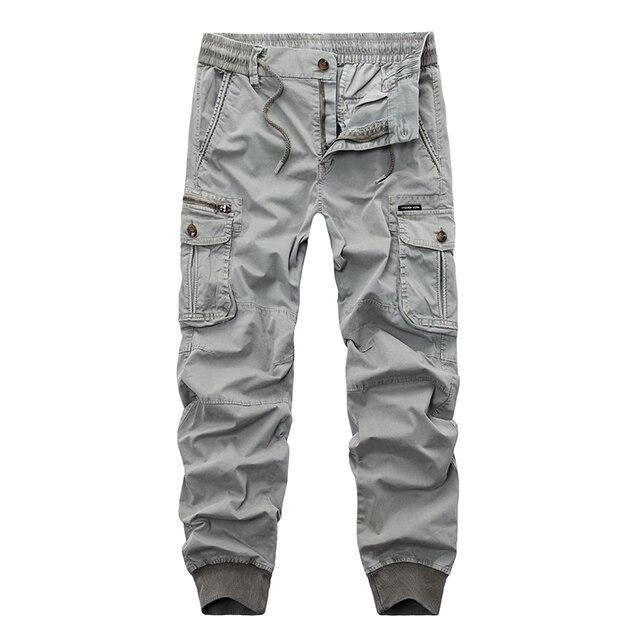 Neue 2018 Marke Lässige Jogginghose Einfarbig Hosen Männer Baumwolle  Elastische Hose Military Style Frauenarmee Cargo- 6f9f05d906