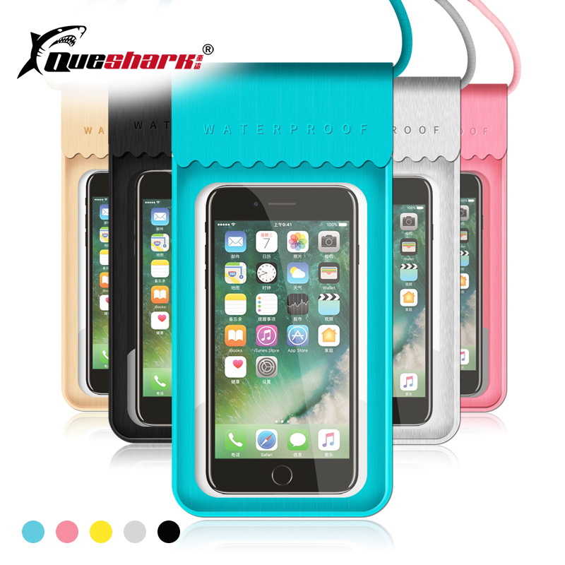 Waterproof Swimming Bag Phone Pouch For IPhone X/8/7/6S Plus River Trekking Hiking Ski Diving Underwater Mobile Phone Bags Case