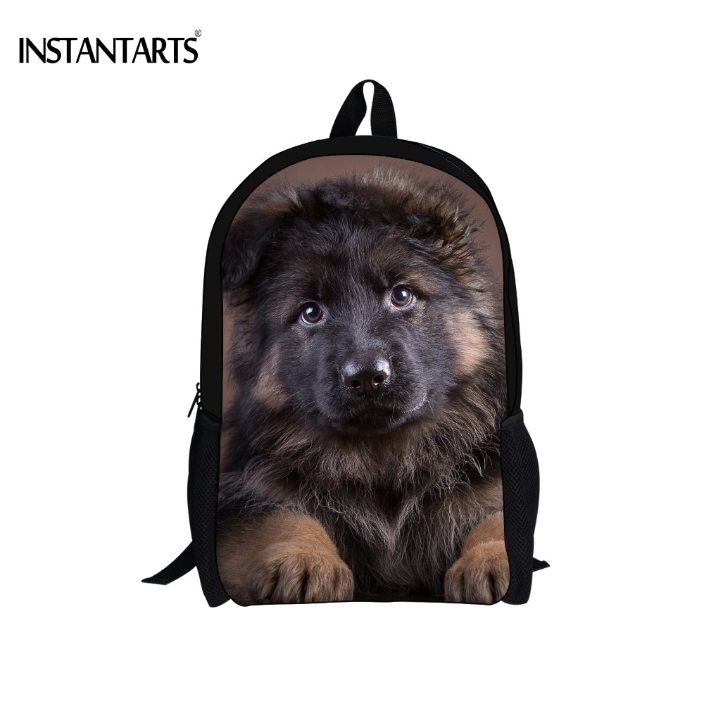 PERSONALISED MEDIUM CUTE PUPPY MESSENGER BAG GREAT FOR SCHOOL GREAT XMAS GIFT