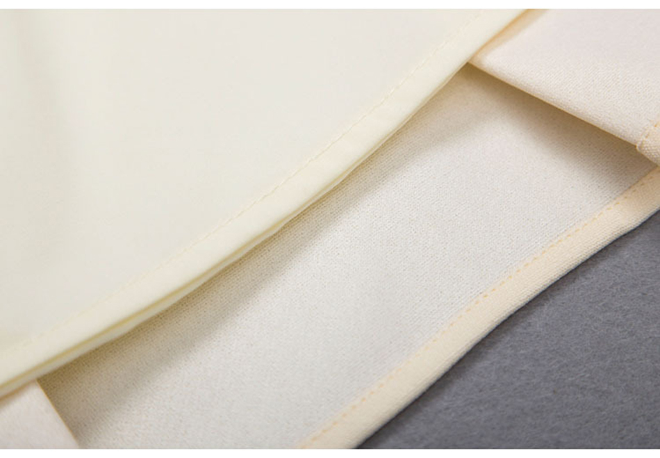 beige Mode White Femelle Off Costume Printemps Deux Crop Ensemble Plissée Automne amp; De Jupe 2018 Tempérament pièce Top Color Nouvelle coréen Broderie 1PwOqH