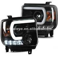 For CHEVROLET for GMC Sierra LED head lamp 2014 to 2015 year SN