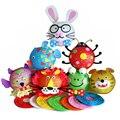 5 PCs children diy animal lantern toys/ Kids Child festival handmade cartoon multi color paper lantern for Halloween decoration