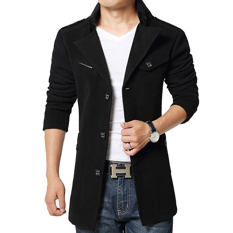 Aliexpress.com : Buy 2017 Brand Winter Jacket Coat Men Turnd down ...