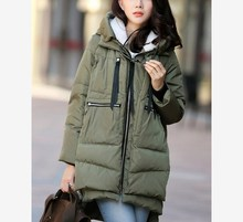 2017 Women Warm Winter Casual Jacket Women Parkas Hooded Long Thick Overcoat Loose Parkas Coats