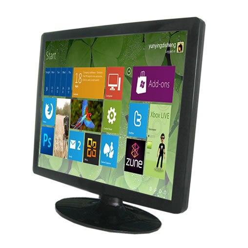 Настольный монитор 23.6 дюймов LCD сенсорный экран / LCD монитор с сенсорным экраном