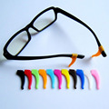 5prs High quality Colorful beautiful glasses slip sets glasses Anti Slip silicone ear hook temple tip holder glasses accessories