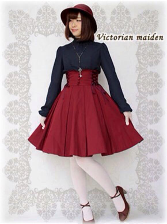 Lolita Retro Falda Top Temperament Flap Fashion High Lap Gothic Daily Plisada Slim Skirt Waist Tutú xB6rwx