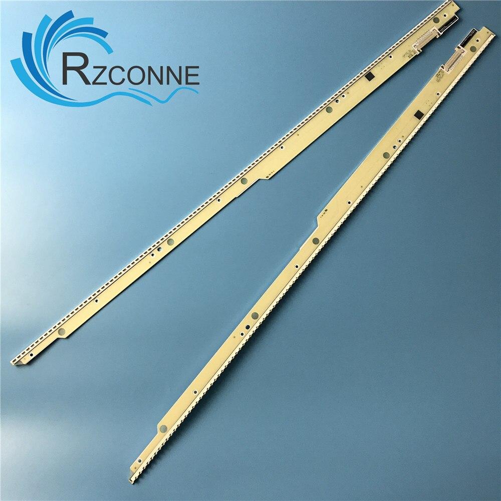 LED Backlight strip For Panasonic TH L55DT50C 55 inch TV NLAW40165L ASAT165L 42B 2 NLAW40165R ASAT165R 42B 1 VVX55F130B20