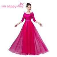 Sıcak pembe tatlı 16 resmi zarif kız sparkle uzun pageant gelinlik modelleri tül kızlar pageant topu elbise gençler için durum H3624
