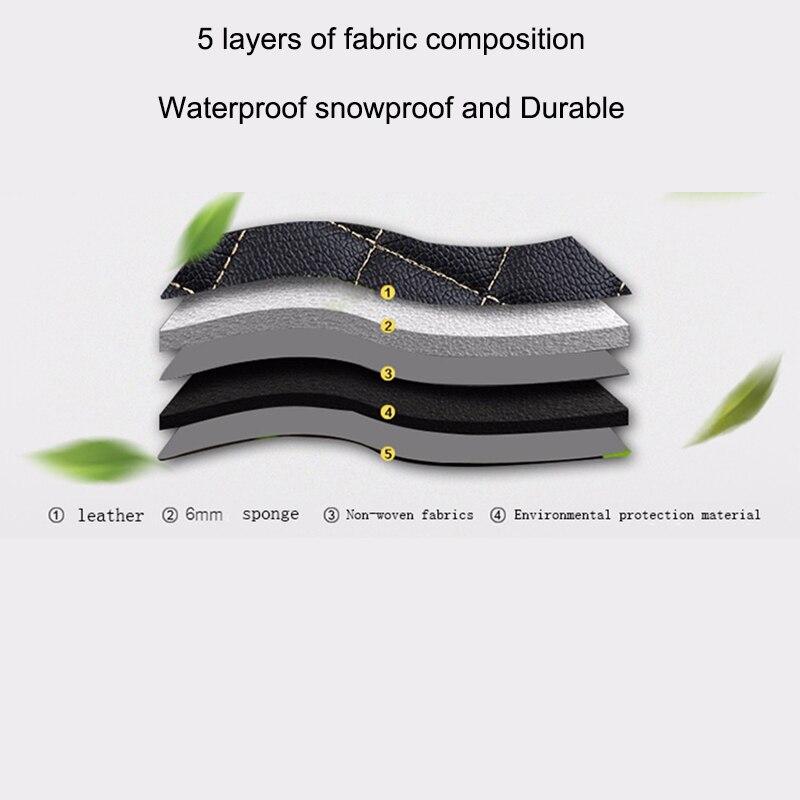 Tapis de sol de voiture Auto Believe pour infiniti qx70 fx qx60 fx37 qx50 ex qx56 q50 q60 accessoires de voiture tapis imperméable - 5