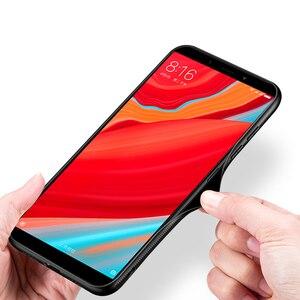 Image 4 - Para Xiaomi Redmi S2 funda de lujo a prueba de golpes híbrido duro funda de vidrio templado para Xiomi Xiaomi Redmi Y2 S 2 fundas de teléfono