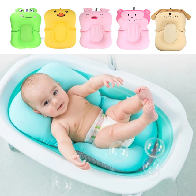 Baby Shower Cushion Mat Portable Air Cushion Bed Baby Bath Pad Non ...