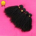 7A Mongoles Kinky Curly Hair 4 Bundle Belleza Pelo Mongol Afro Rizado Pelo Virginal rizado Sin Procesar Rizado Armadura Del Pelo Humano