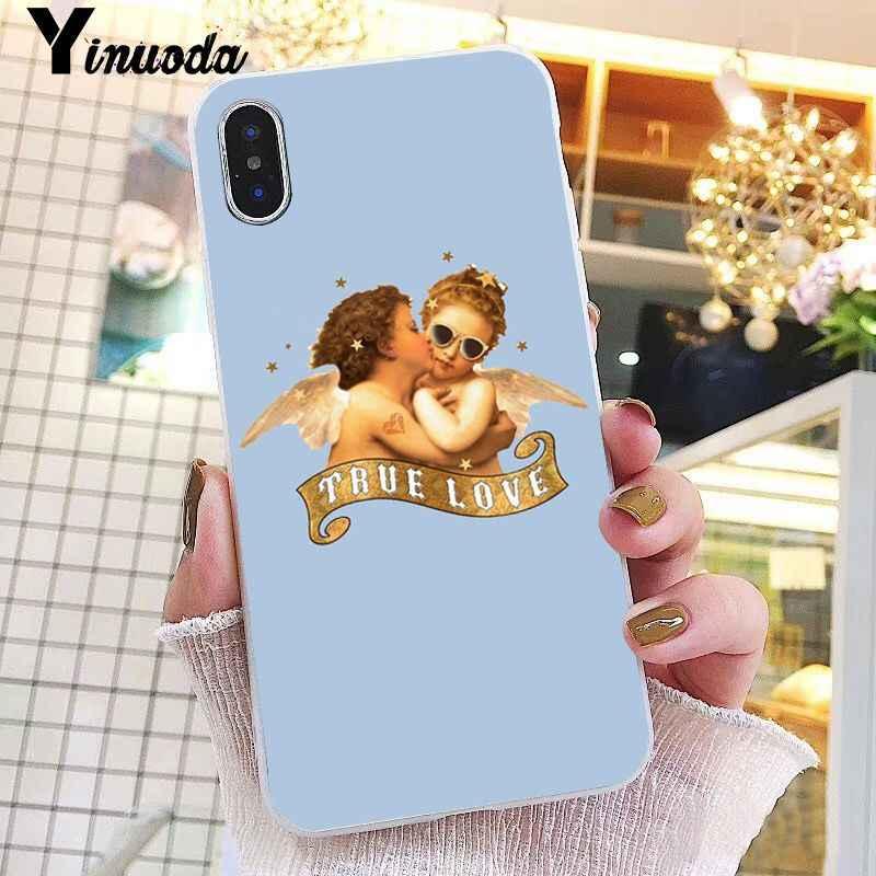 Yinuoda винтажная картина Райский Ренессанс ангелы чехол для iPhone X XS MAX 6 6S 7 7plus 8 8Plus 5 5S XR 10 11 pro max