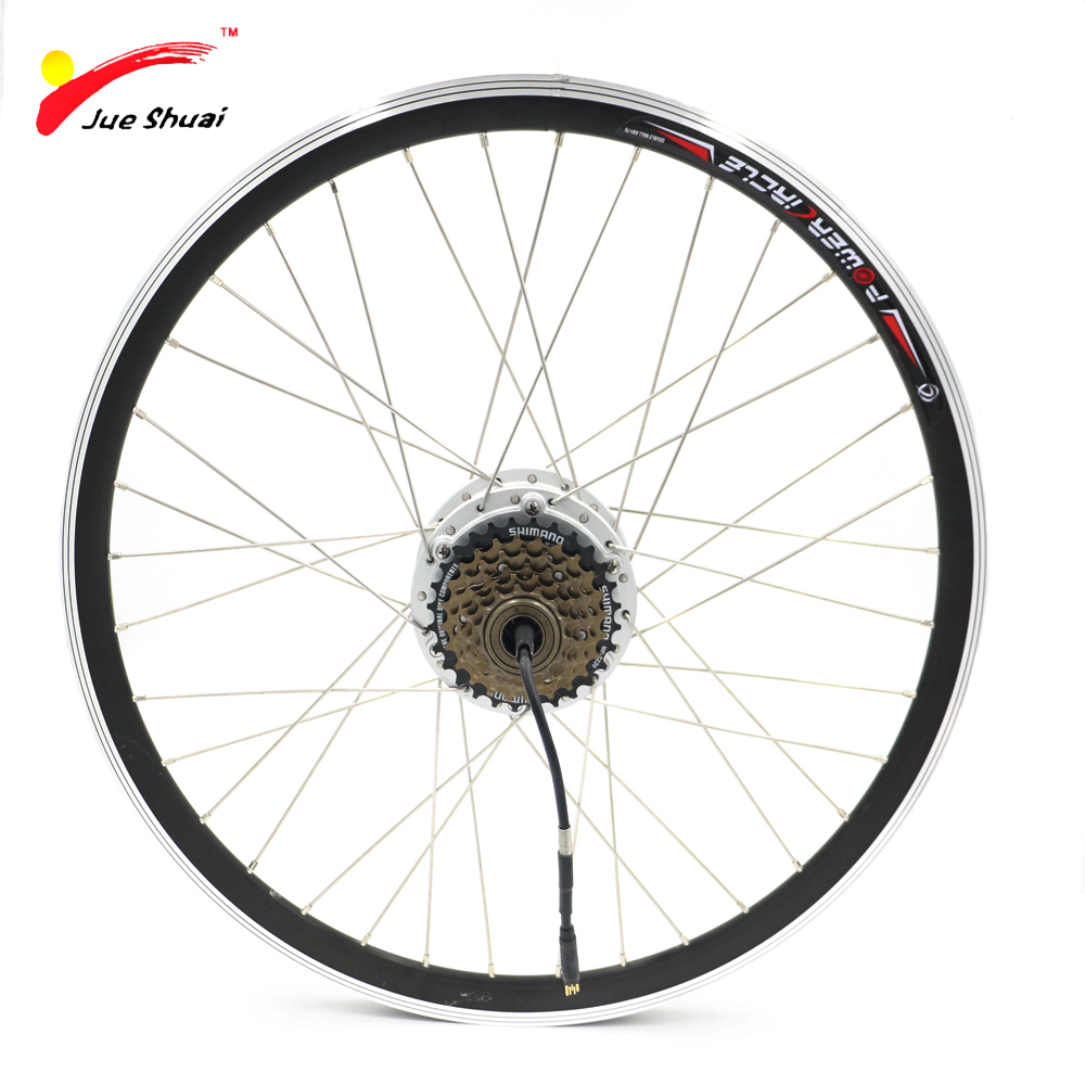 JS 36V 500W Brushless Gear Hub Motor for Electric Bicycle With 6/7 Speed Cassette Convertion Kit Ebike Accessories Parts 2017 top fashion ebike kit bafang 36v250w front geared direct motor for ebike brushless hub motor 8fun electric wheel
