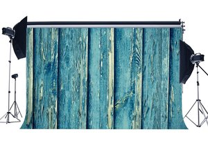 Image 1 - Photography Backdrop Weathered Shabby Chic Peeled Vintage Stripes Wood Floor Backdrops