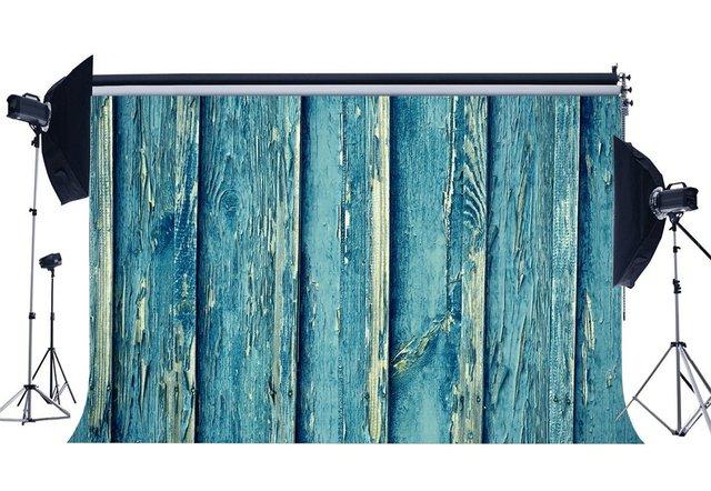 Photography Backdrop Weathered Shabby Chic Peeled Vintage Stripes Wood Floor Backdrops