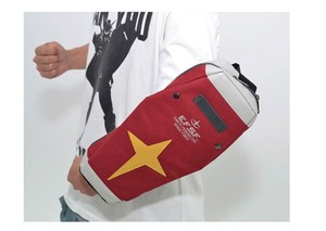 Image 3 - Japanese Anime GUNDAM Bag Student School Waist Messenger Bags Arm RX 78 Single Shoulder Bag